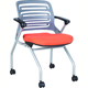 School Training Writing Pad Student Folding Conference Chair,Stacking Office Chair
