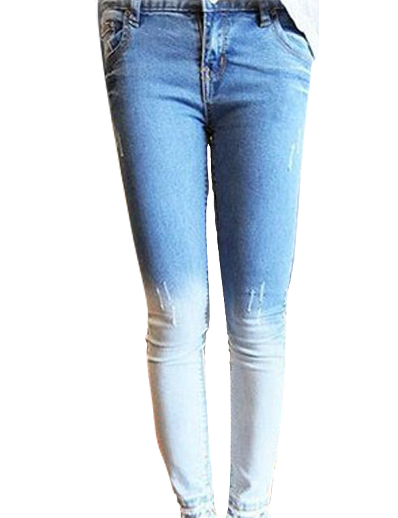 Get Quotations · Cotton Denim Jeans Womens 2015 New Fashion Skinny Jeans  Woman Lady Denim Pencil Pants Trousers Fits 8376ee7244