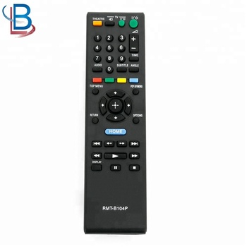 RMT-B104P Remote Control use For Sony Blu-Ray Disc DVD Player
