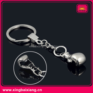 wholesale mock-up boxing glove key ring