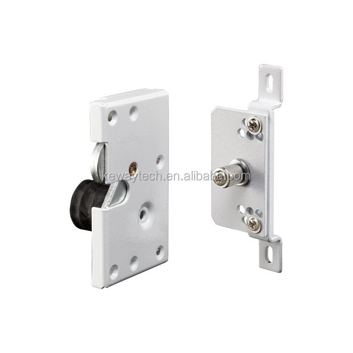Hook Bolt Door Lock with Retention Force 300kg , Fail Safe 12VDC Dedicated Electric Hook Lock for Sliding Rail Door and Window