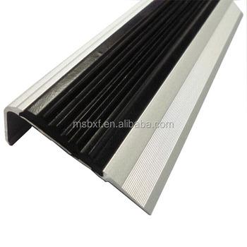 Anti Slip Tread Cover Indoor Flexible Rubber Vinyl Strip