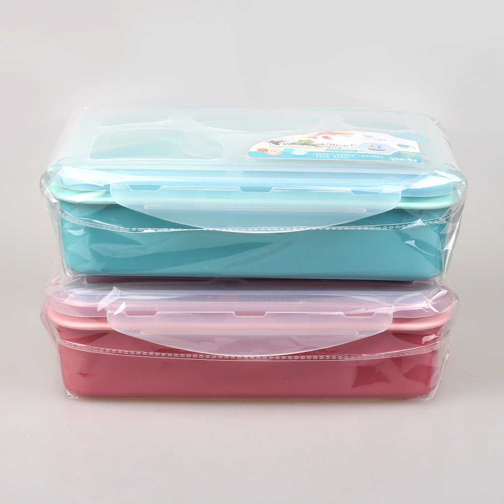 Yooyee Bote Lunch En Plastique De Rangement Avec Box Compartiments