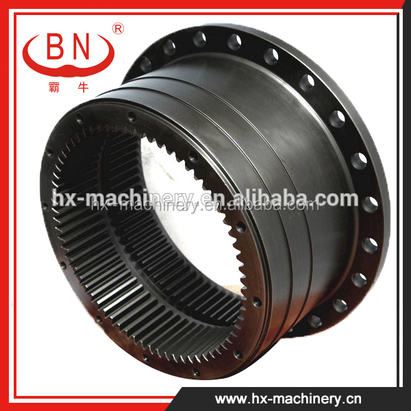 1018789, 1020184 PART No. 68*76 Teeth gear ring parts for HITACHI EX200-5 Excavator,