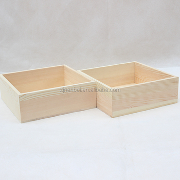 Storage Box Without Lidunfinished Small Cheap Wooden Coin Box Buy