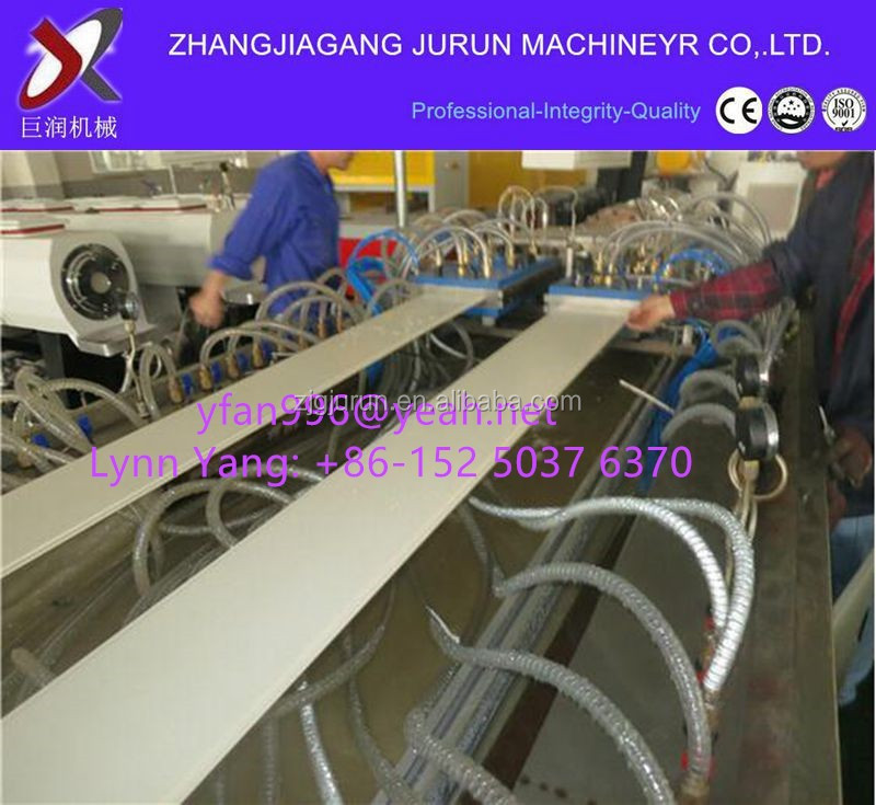 pvc fascia board machine line