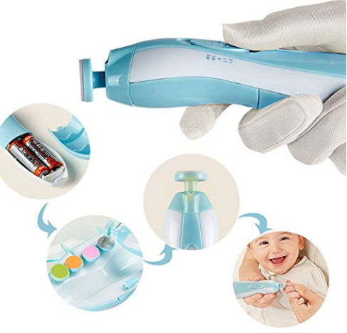 2020 Factory Price Popular Best Selling electric manicure polisher for baby care nail trimmer