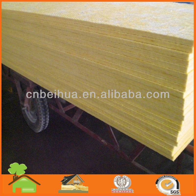 Sound Absorption Glass Wool Plate