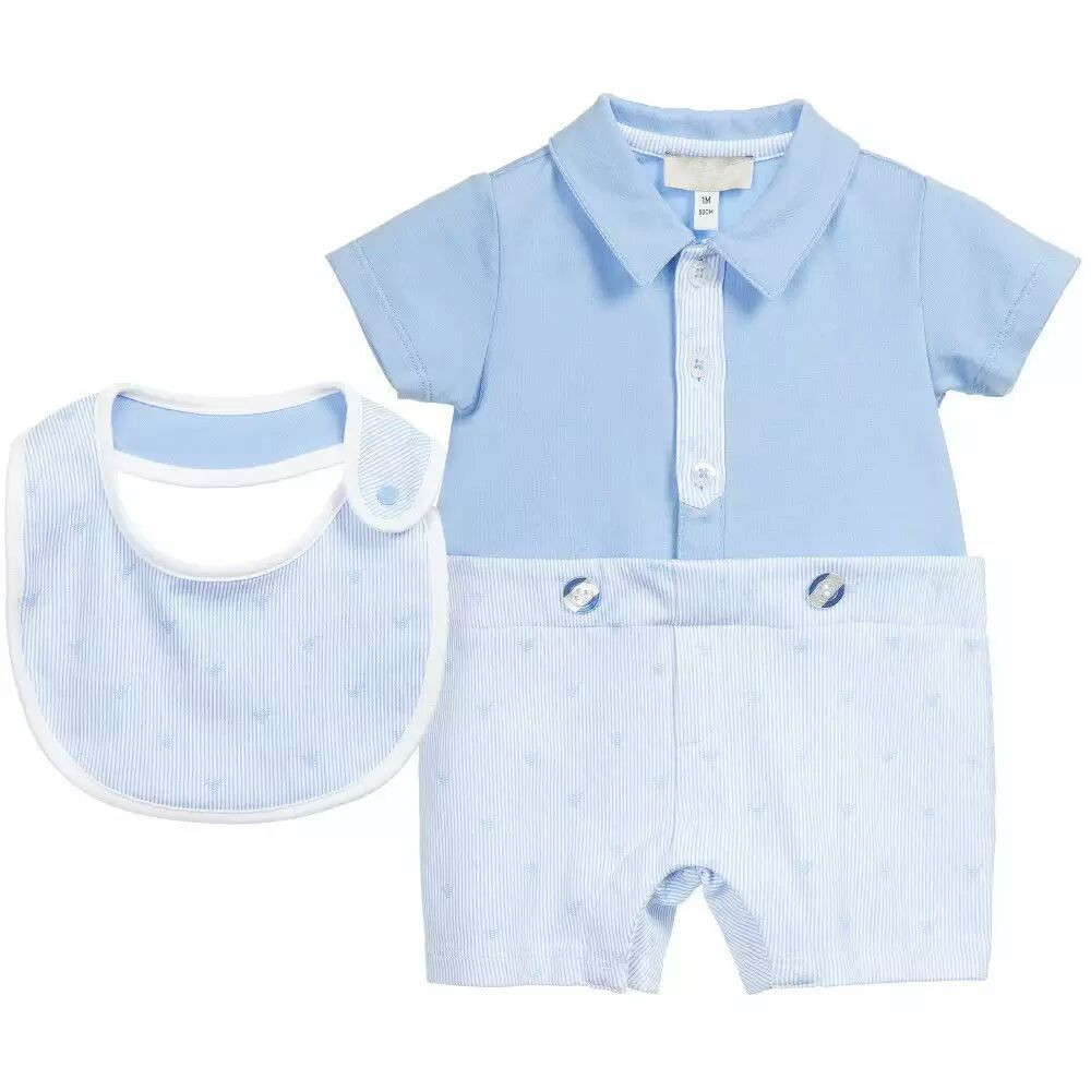 2016 Summer Style Baby Boys Romper Short sleeve one piece Newborn Bebes clothes with Bib