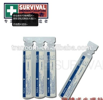 Survival emergency products 1003 0.9% Sterile Normal Saline Solution for single use
