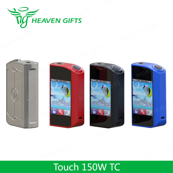 Newest 100% Original 150W Tesla Touch e cig mods for sale