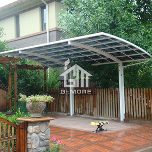 G-MORE Professional Carport Manufacturer, High Grade Easy DIY Elegant Aluminium/Solid PC home Carport/Garages