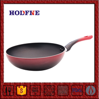 Home Kitchen Cooking Non-stick Polychrome with Handle Nonstick Double Fry Pan Aluminum Frying Pan Double Sided