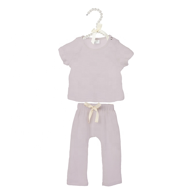Hot selling new solid products boutique toddler kids children clothes baby girls outfits
