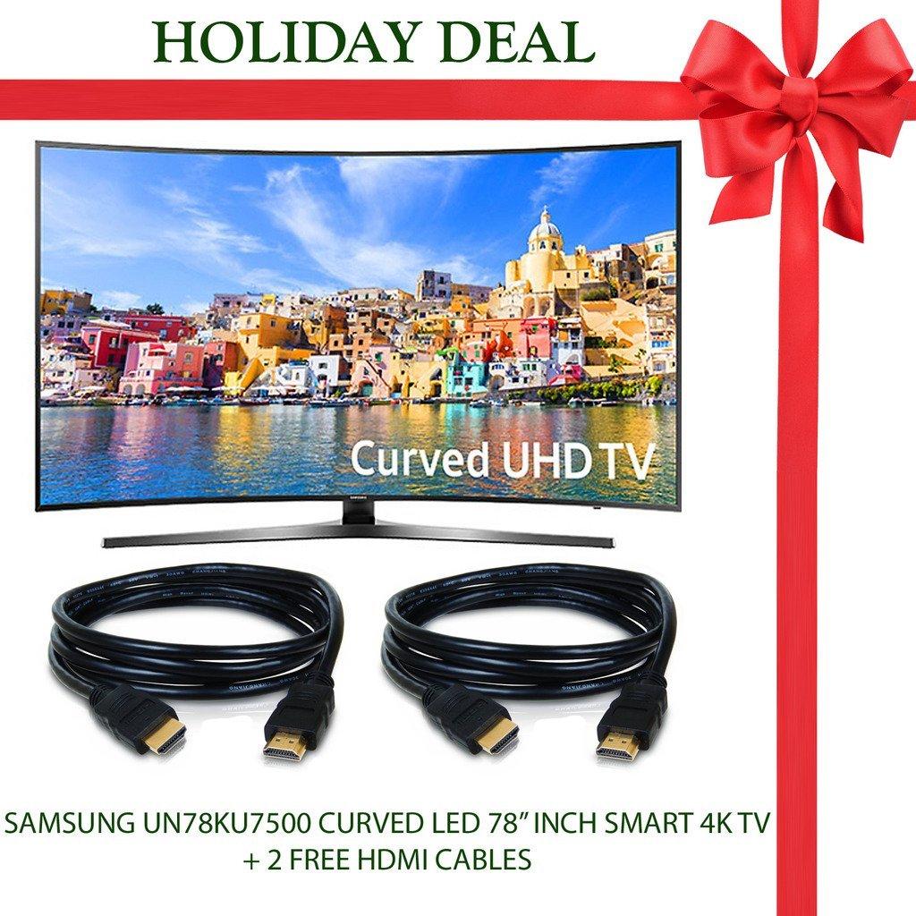 Buy Holiday Deal Brand New! Samsung UN78KU7500 Curved Flat