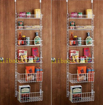 Overdoor Storage Basket Rack & Overdoor Storage Basket Rack - Buy Overdoor Storage BasketOverdoor ...