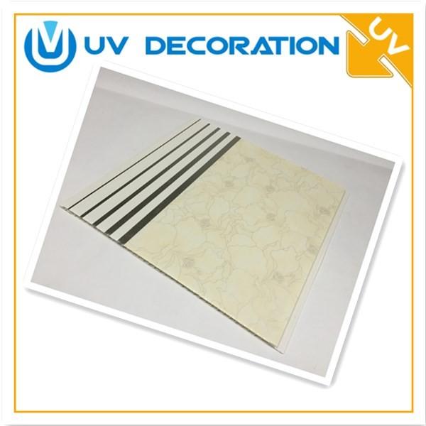 2018 Decorative Material Waterproof Bathroom Plastic Wall
