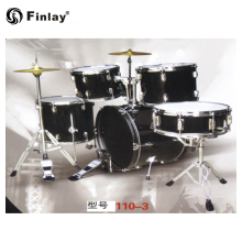 110-3 fabrik Preis China Musical Instrument Einzigartige Design Jazz Drum Set