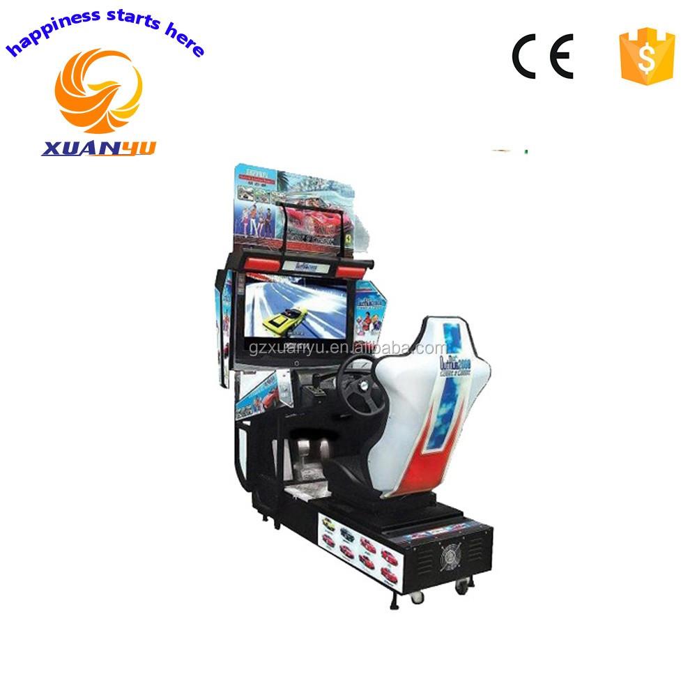 Panyu barato máquina de juego de arcade simulador de carreras de go ...