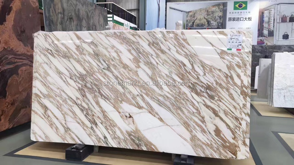 High Quality Factory Wholesale Price Italy Calacatta Gold Marble Slabs