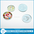 Chinese Manufacturer Transparent Glass Magnets for Fridge