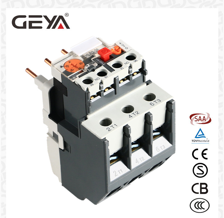 GEYA LRD series Telemecanique Thermal Overload Relay Protection Relay Electromechanical Relay