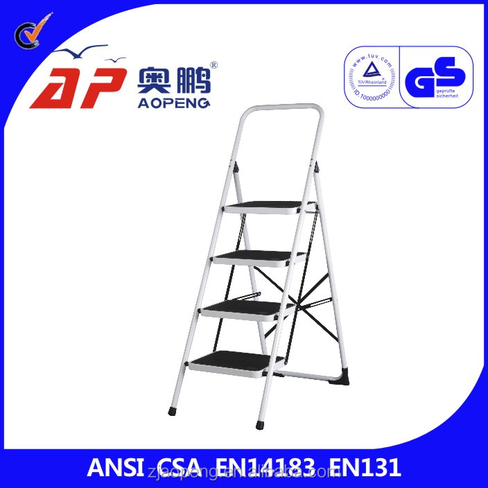 safety design step folding ladder four step laddes yuseful for everywhere