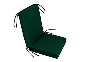 "Chair Seat & Back Cushion Set | 22"" x 22.5"" x 3"" 