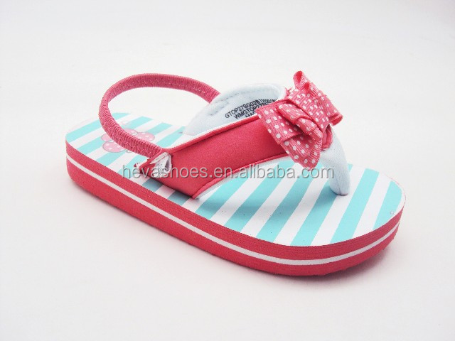 fcdf8b0c9dfb Toddler Girls  Casual Eva Flip Flops With Back Strap Sandals - Buy ...