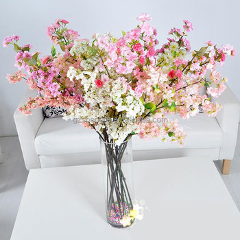 Artificial Cherry Branch Home Decoration Flower Pot Artificial Flower Vase Silk Cherry Blossom Buy Silk Cherry Blossom Artificial Cherry Blossom Tree Artificial Flower Vase Product On Alibaba Com