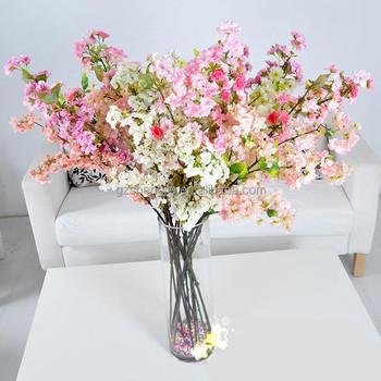 Branche De Cerise Artificielle Decoration De La Maison Fleur Pot