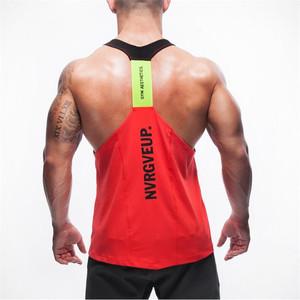 158ce8c773b73 OEM Polyester And Spandex Custom Stringer Tank Top Gym Men Wholesale Sports  Vest