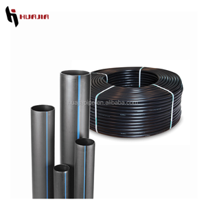 JH0473 plastic hose black pe pipe types plumbing materials hot sale pehd pipe