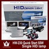 Wholesale 12v 55w Xenon HID kit H1 H3 H7 H8 H9 H10 H11 single beam HID KIT all color 3000k,4300k,6000k,8000k,10000k,12000k