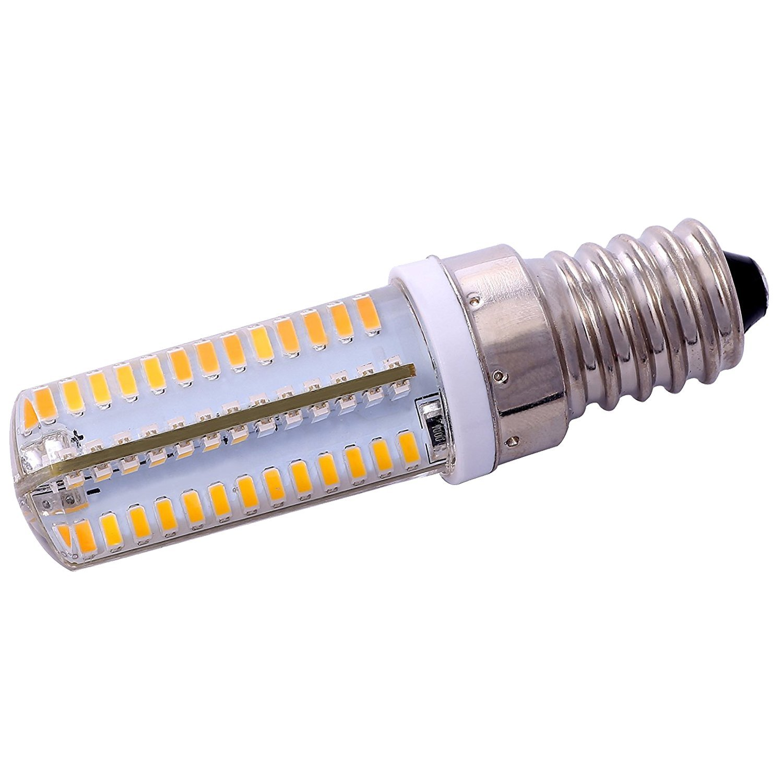 TOOGOO(R) Energy Saving E14 5W 3014SMD AC110V/220V Warm White 104LED Corn Light Bulb 290-340LM 3000-3500K 10 pcs