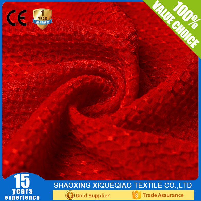 100% Polyester Warp knit Polyester Jacquard Mattress Fabric
