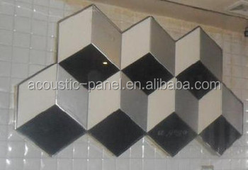 Soundproof Decorative Ceiling Tiles Polyurethane Diffuser Wall Panel Sound Acoustic Yz