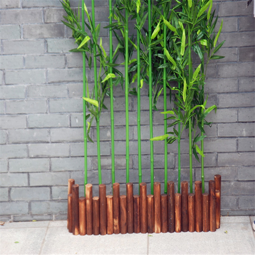 Whole Artificial Bamboo Tree For Outdoor Wall Decoration Plastic Lucky