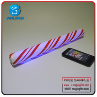 Voice Control any logo can be printed in pop music concerts flashing Glow stick
