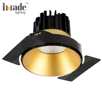 Imade High Quality Indoor 13W 38W COB Recessed LED Downlight