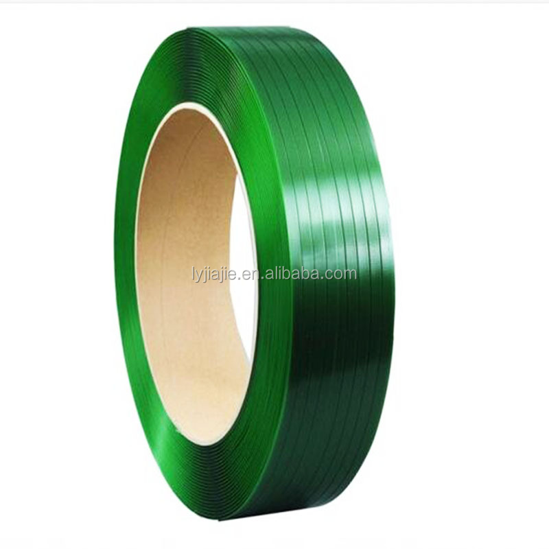 polyester packing strap for packing cotton and aluminum ingot and brick