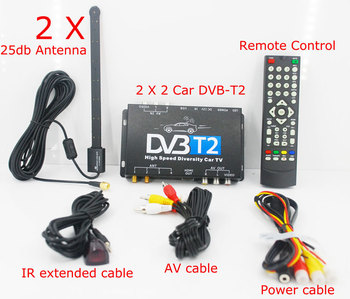 Car DVB-T22 HD DVB-T/T2 ,H.264 low price set top box High Speed Russian Thailand