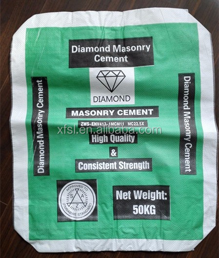 Promotional Laminated Pp Ad Star Cement Bags Valve Bag 25kgs 50kgs ...