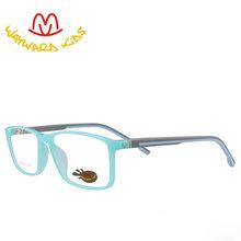 Wayard детские модные очки, Детская оправа TR90, оправа, резиновые дужки, очки, прозрачные линзы, без рецепта, очки для K9006(Китай)