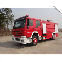 CLW HOWO fire truck 2m3 - 16m3 model fire engine