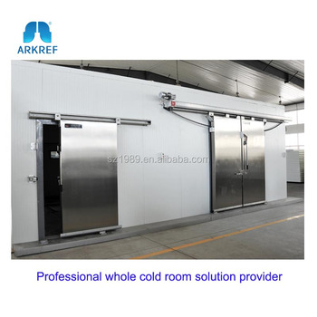 Low Cost Refrigeration Frozen Cold Storage Room For Meat Fish Factory