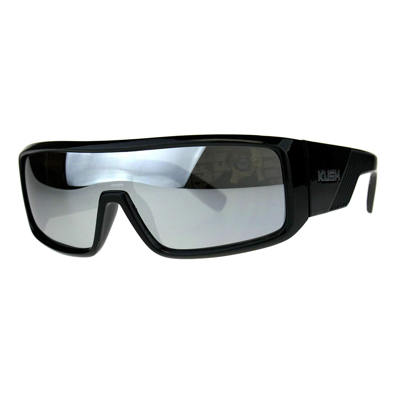 Locs Gangster Cholo Mad Dog Dark Matte Black Shades Sunglasses