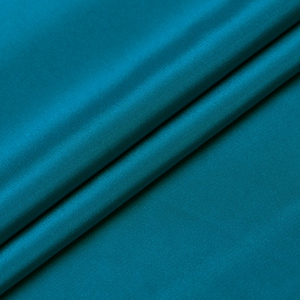"Howmay heavy pure silk crepe fabric 30m/m 45"" 114cm 100% crepe silk fabric peacock blue for dress shirt"