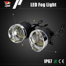 High efficiency DRL car top fog lamps yellow fog light for toyota avanza