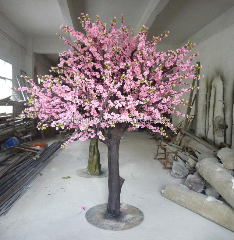 D coratif grand arbre artificiel faux arbres de fleurs de for Faux olivier arbre